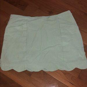 Lilly Pulitzer Seersucker skirt 00